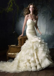 Lazaro Couture Gown
