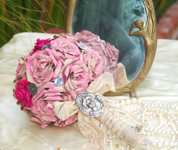 tissue paper flowers wedding. Paper wedding flowers can be