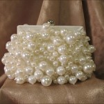 Dangled Pearl Bridal Clutch