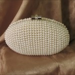 Pearl Minaudiere Bridal Purse