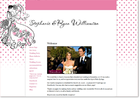 MyWedding Website