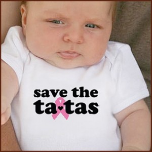Save the Ta-tas apparel and accessories.