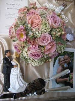 Bridal Bouquet Keepsake
