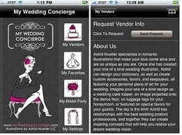 iPhone Wedding App