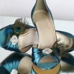Pride & Prejudice Peacock Special Occasion Shoes