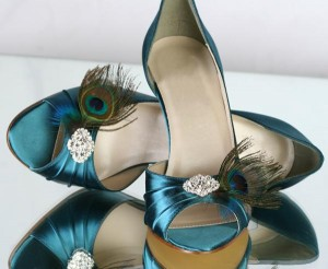 Pride &amp; Prejudice Peacock Special Occasion Shoes