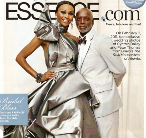 Model Cynthia Bailey Wedding