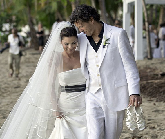 Shania Twain Wedding/Celebrity Wedding