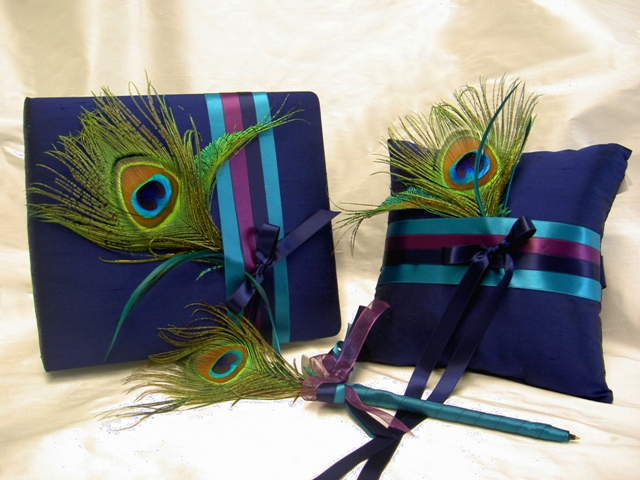 Guest Book, Guest Pen and Ring Pillow
