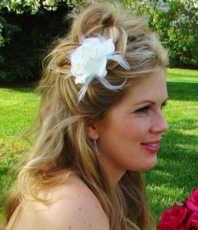 Bridal Fascinators on Bridal Top Wedding Blog    Bridal Hairstyle Advantage Bridal
