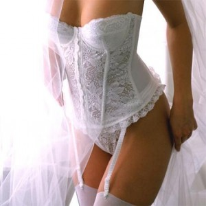 Lace Bridal Bustier