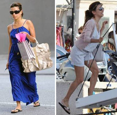 Eva Longoria wears Girl Two Doors Down