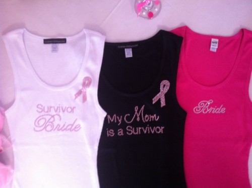 Cancer Awareness Tank Tops