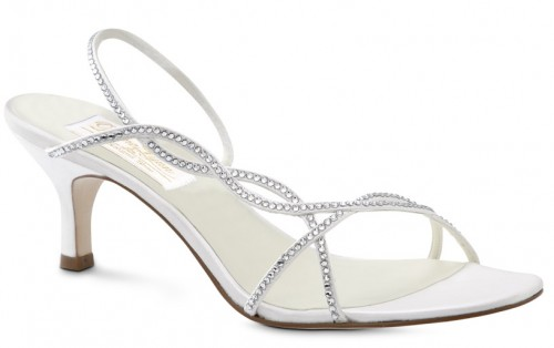 Dressy Bride Slingbacks