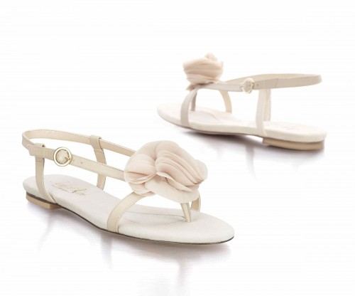 Nude Wedding Sandals