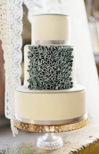 Of course her unique wedding cakes have been featured in top bridal