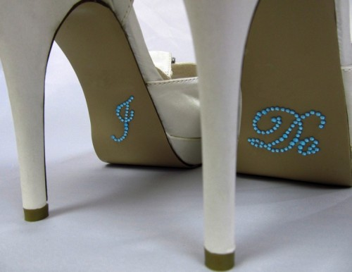 Add some sparkle where they 39d least expect it On your wedding shoes