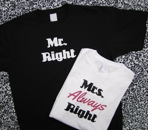 Mr and Mrs Shirt