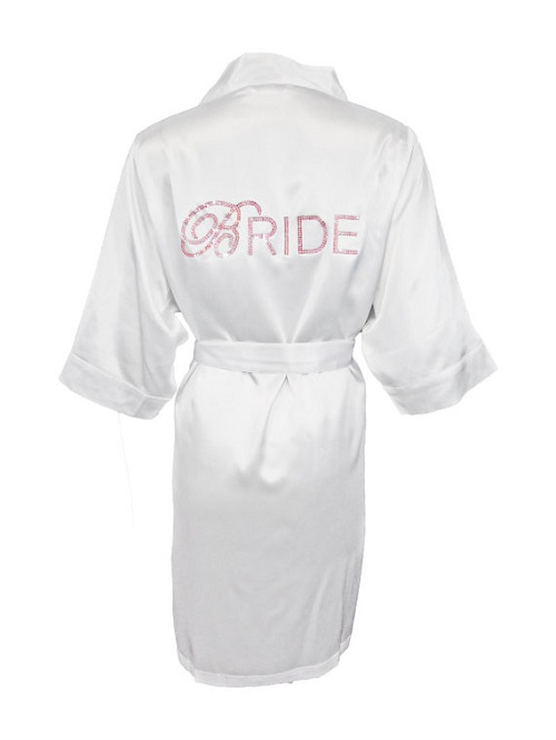 Satin Bridal Robe