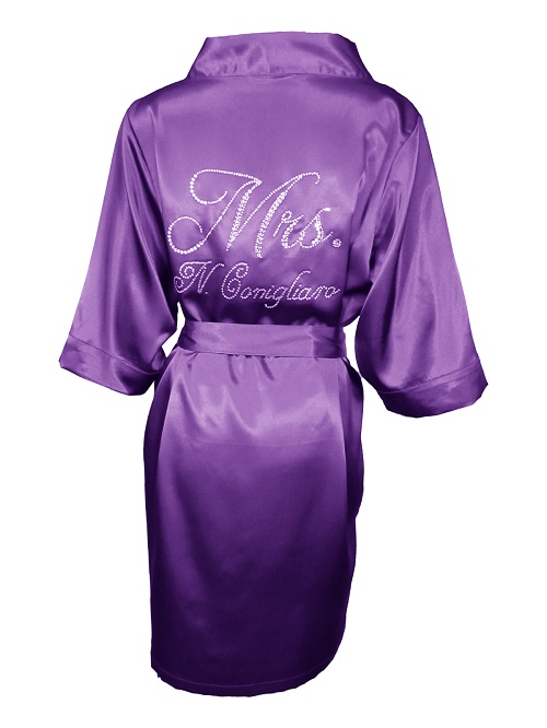 Satin Bride Robe