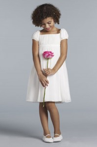 Ivory Flower Girl Dress Sizes