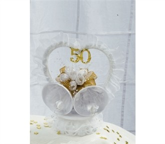 50th Anniversary Cake Top