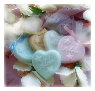 Beach Wedding Favors Aloha Bath Soap Wedding and Bridal Shower Favors