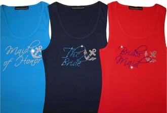 Nautical Bridal Party Shirts - Choose Colors!