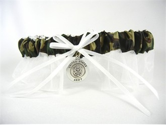 Army Bridal Garter - Army Wedding Garter