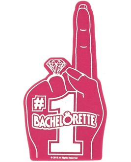 #1 Bachelorette Foam Finger - Bachelorette Party Supplies