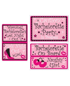 Bachelorette Party Auto Clings
