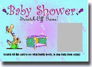 Baby Shower Lottery Scratcher Game