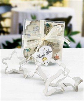 Beach Wedding Favors Cookie Cutter Sets-4702