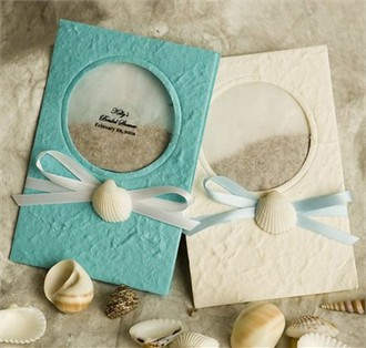 Beach Favors Flower Seed Cards