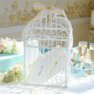 Bird Cage Wedding Card Holder