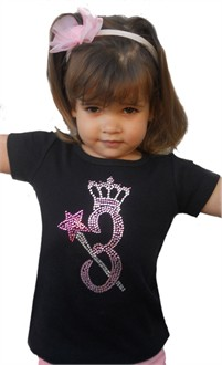 Birthday Princess Rhinestone Shirt
