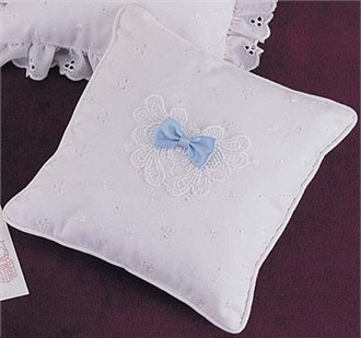 Tooth Fairy Pillow with Blue Bow