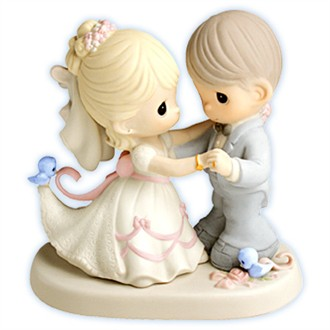 Precious Moments Figurine You Are My Dream Come True