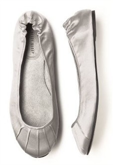 Oyster Ballet Flats - Bridesmaid Shoes