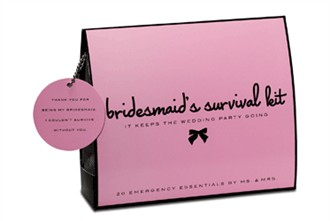 Bridesmaid's Survival Kit - Wedding Day Emergency Kit