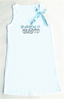 Building a Boy Rhinestone Maternity Tank or Tee