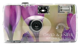 Crocus Flower Personalized Camera