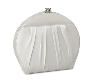 Round Clutch Bridal Handbag by Coloriffics