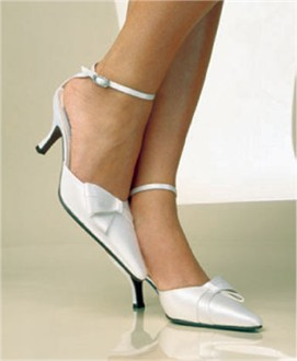Couture Silk Bridal Pumps Wedding Shoe