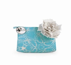 Aqua Starfish Jute Case