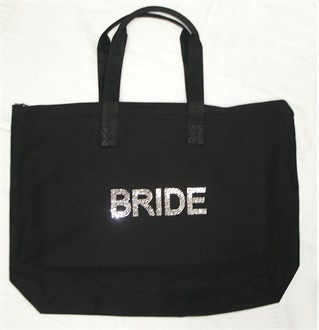 Crystal Brilliant BRIDE Tote Bag