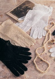 Fine Crochet Lace Gloves
