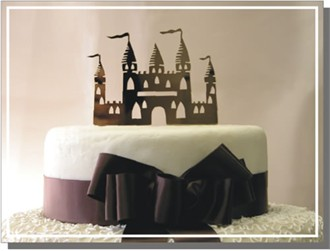 Custom Castle Cake Topper