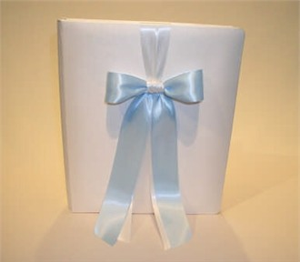 Custom Color Memory Book in White or Ivory