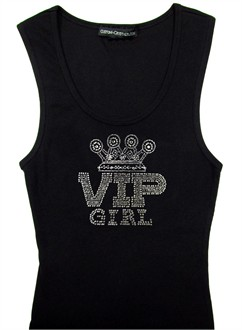 Custom VIP Girl Bachelorette Tank Top or T-Shirt